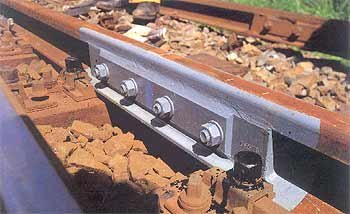 درز ریل راه آهن